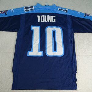 NFL Tennessee Titans Vince Young #10 Jersey Medium